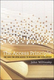 Cover of: The Access Principle