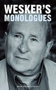 Cover of: Weskers Monologues