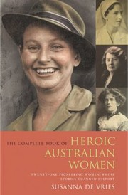 Cover of: No Place For A Lady The Complete Book Of Australian Heroic Women