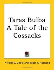 Cover of: Taras Bulba A Tale of the Cossacks