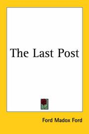 Cover of: Last post