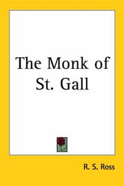 Cover of: The Monk of St. Gall