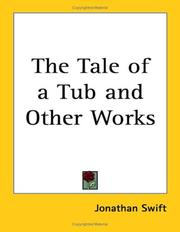 Cover of: The Tale of a Tub and Other Works