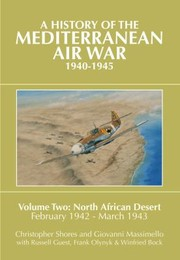 Cover of: A History of the Mediterranean Air War 19401945