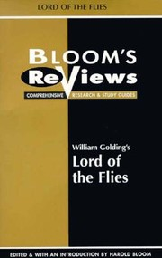 Cover of: William Goldings Lord Of The Flies