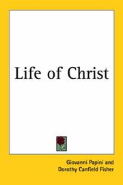 Cover of: Life of Christ