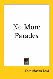 Cover of: No more parades
