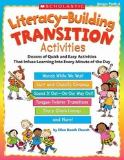 Cover of: Literacybuilding Transition Activities Dozens Of Quick And Easy Activities That Infuse Learning Into Every Minute Of The Day