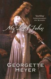Cover of: My Lord John
