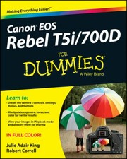 Cover of: Canon Eos Rebel T5i700d For Dummies