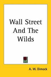 Cover of: Wall Street And The Wilds