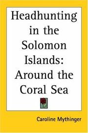 Cover of: Headhunting in the Solomon Islands