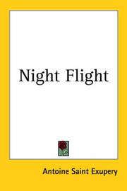 Cover of: Night flight
