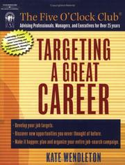 Cover of: Targeting a Great Career (Five O