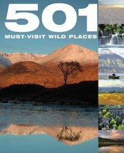 Cover of: 501 Mustvisit Wild Places
