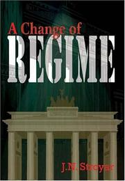 Cover of: A Change of Regime