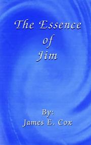 Cover of: The Essence of Jim | James E. Cox