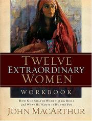 Cover of: Twelve Extraordinary Women Workbook