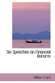 Cover of: Six Speeches on Financial Reform