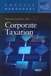 Cover of: Principles Of Corporate Taxation