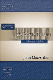 Cover of: The MacArthur Bible Studies