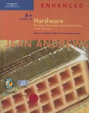 Cover of: A+ Guide to Hardware | Jean Andrews