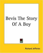 Cover of: Bevis, the story of a boy