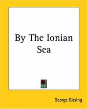 Cover of: By The Ionian Sea | George Gissing