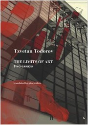 Cover of: The Limits Of Art Two Essays
