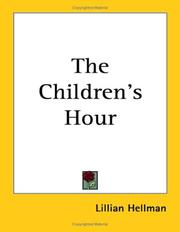 Cover of: The Children's Hour