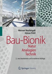 Cover of: Baubionik Natur Analogien Technik