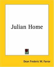 Cover of: Julian Home