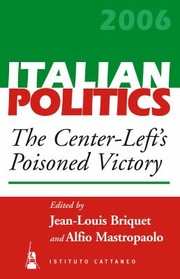 Cover of: The CenterLefts Poisoned Victory