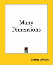 Cover of: Many Dimensions