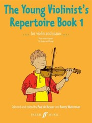 Cover of: The Young Violinists Repertoire For Violin And Piano