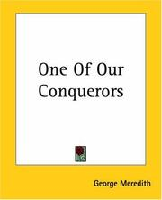 Cover of: One Of Our Conquerors | George Meredith