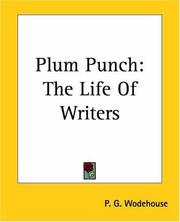 Cover of: Plum Punch | P. G. Wodehouse