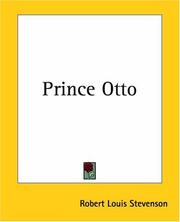 Cover of: Prince Otto by Robert Louis Stevenson