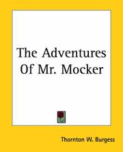 Cover of: The Adventures Of Mr. Mocker