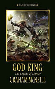 Cover of: God King The Legend Of Sigmar