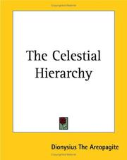 Cover of: The Celestial Hierarchy