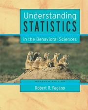 Cover of: Understanding Statistics In The Behavioral Science With Cdrom And Infotrac