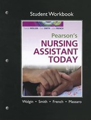 Cover of: Workbook For Pearsons Nursing Assistant Today First Edition