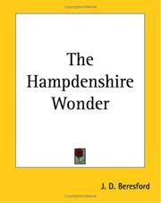 Cover of: The Hampdenshire Wonder | J. D. Beresford