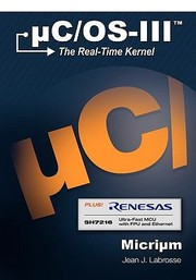 Cover of: Ucosiii The Realtime Kernel And The Renesas Sh7216