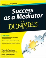 Cover of: Success As A Mediator For Dummies