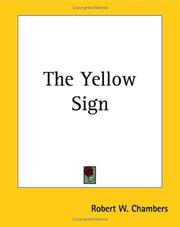 Cover of: Yellow Sign