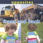 Cover of: Front and Back