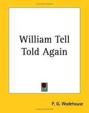 Cover of: William Tell Told Again