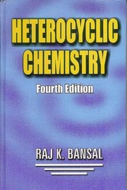 Cover of: Heterocyclic Chemistry